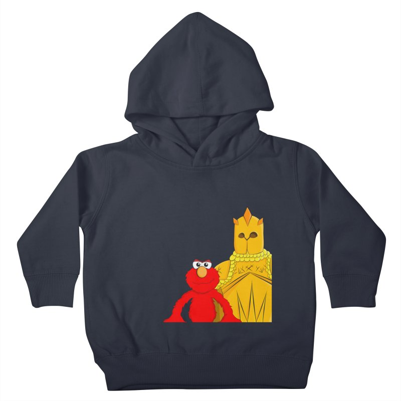 Elmo Choose Violence Kids Toddler Pullover Hoody by oneweirddude's Artist Shop
