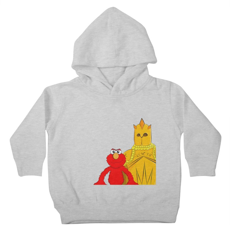 Elmo Choose Violence Kids Toddler Pullover Hoody by oneweirddude's Artist Shop
