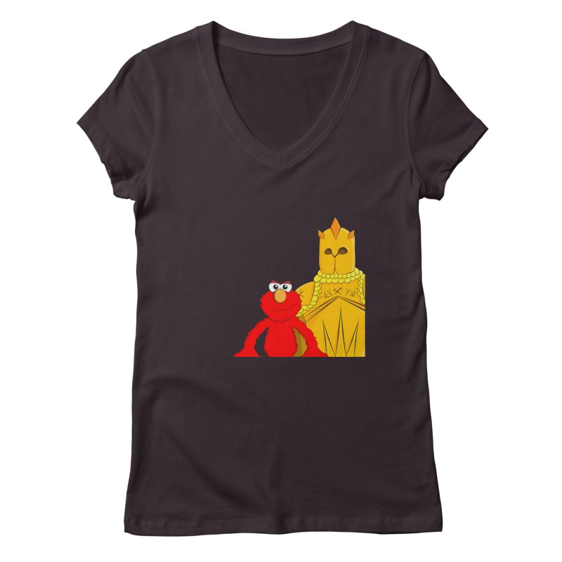 Elmo Choose Violence Women's V-Neck by oneweirddude's Artist Shop