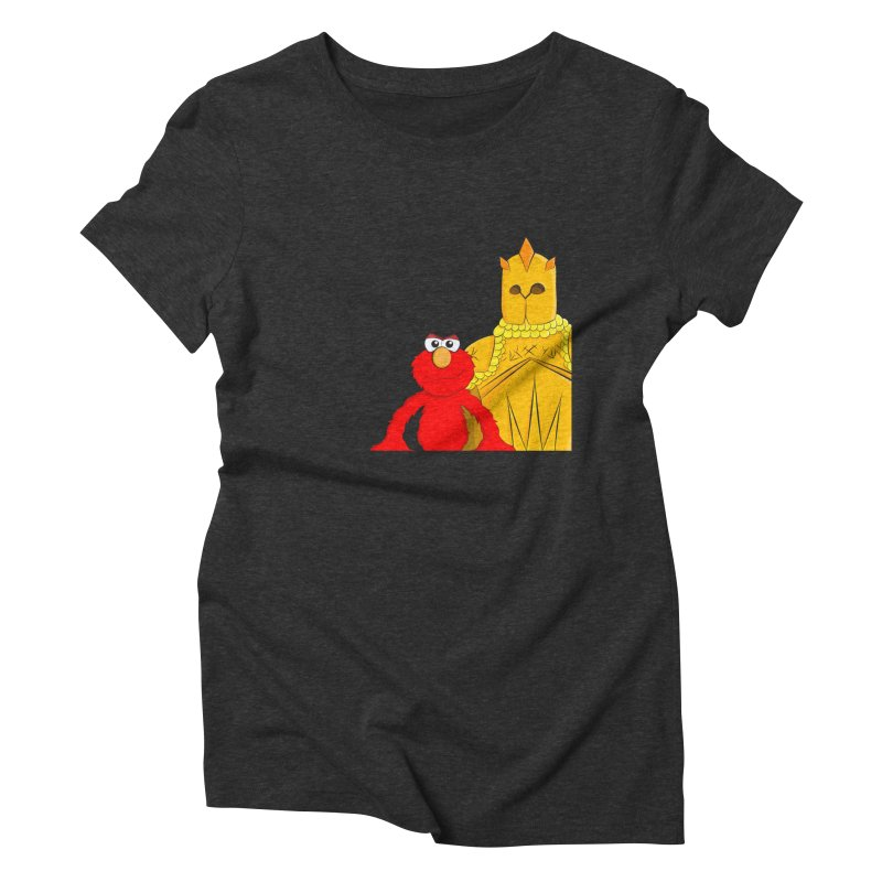 Elmo Choose Violence Women's Triblend T-shirt by oneweirddude's Artist Shop