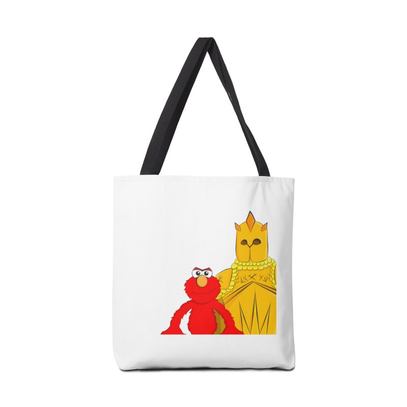 Elmo Choose Violence Accessories Bag by oneweirddude's Artist Shop