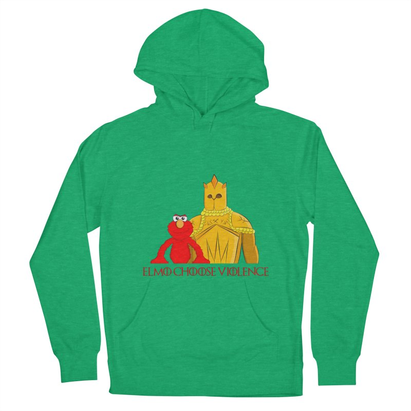 Elmo Choose Violence v2 Men's Pullover Hoody by oneweirddude's Artist Shop