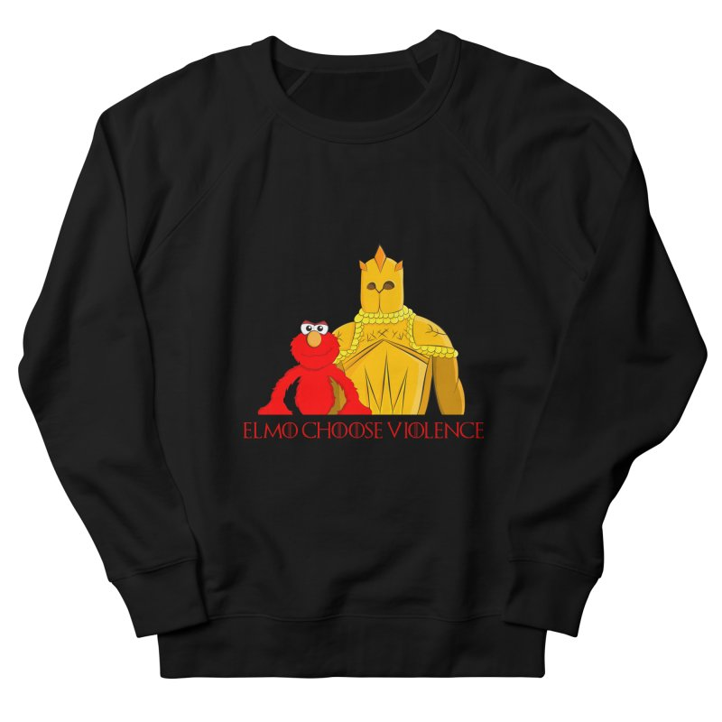 Elmo Choose Violence v2 Men's Sweatshirt by oneweirddude's Artist Shop