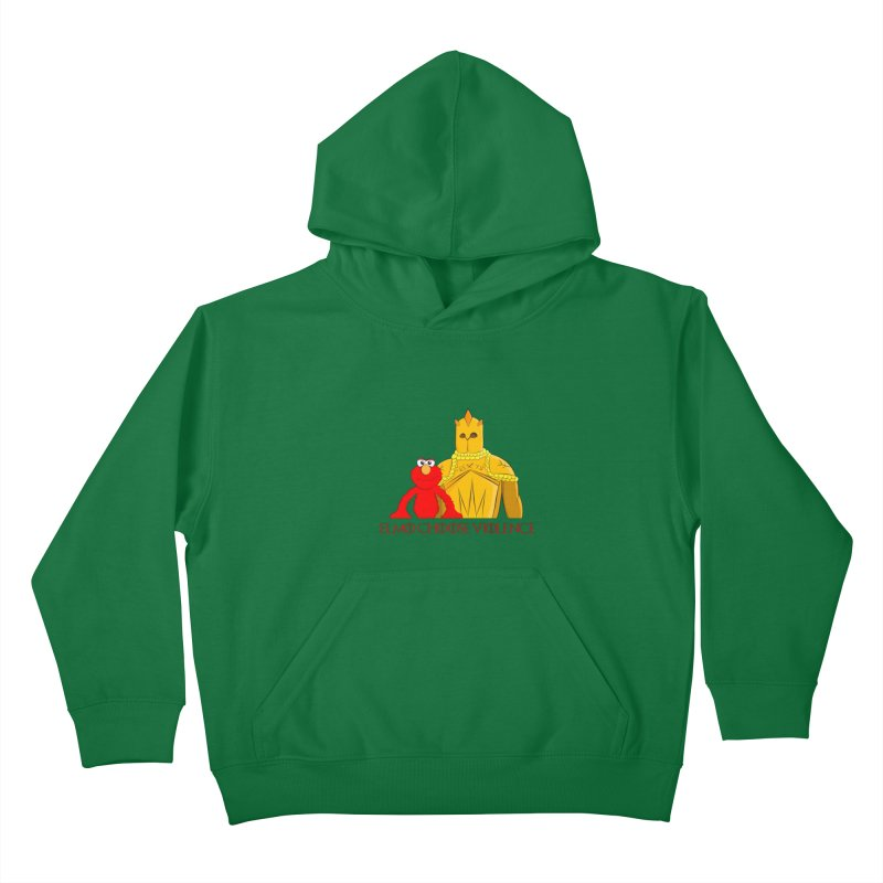 Elmo Choose Violence v2 Kids Pullover Hoody by oneweirddude's Artist Shop