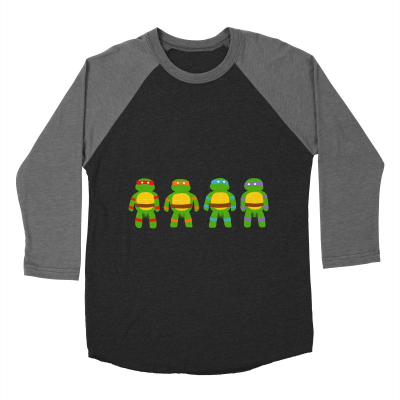 Pixellated Ninja Parts Men's Baseball Triblend T-Shirt by oneweirddude's Artist Shop