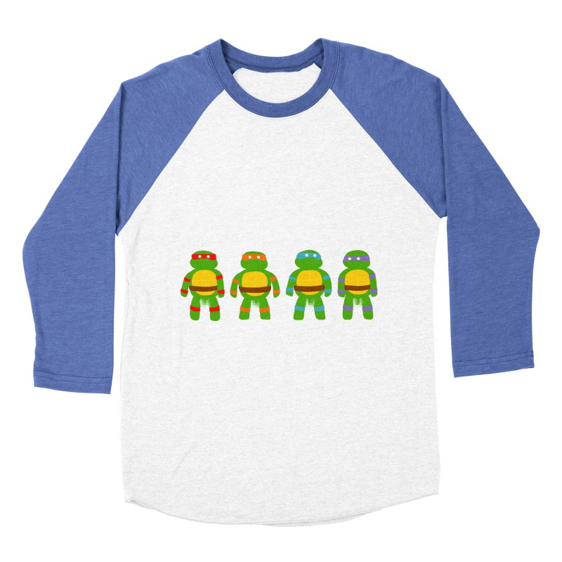 Pixellated Ninja Parts Men's Baseball Triblend T-Shirt by oneweirddude's Artist Shop