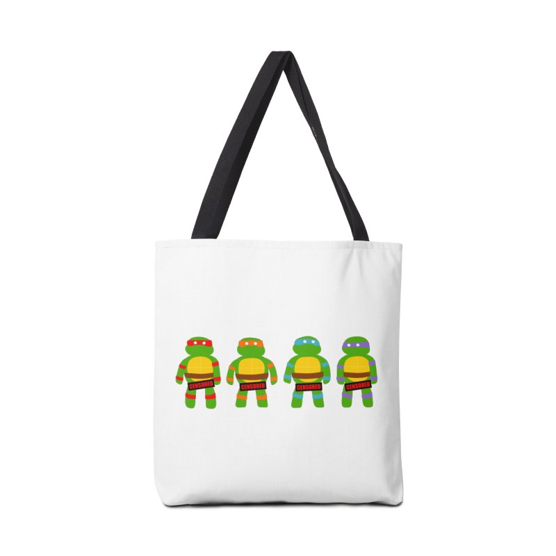 Naughty Ninjas Accessories Bag by oneweirddude's Artist Shop