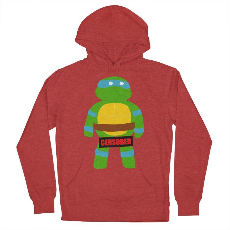 Naughty Leonardo Men's Pullover Hoody by oneweirddude's Artist Shop