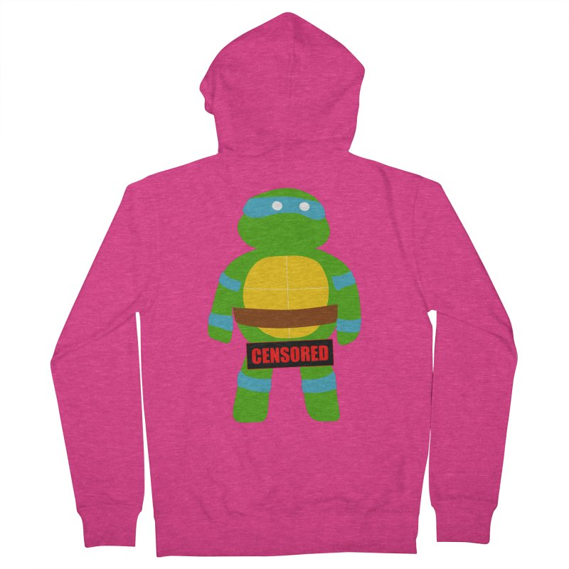 Naughty Leonardo Women's Zip-Up Hoody by oneweirddude's Artist Shop