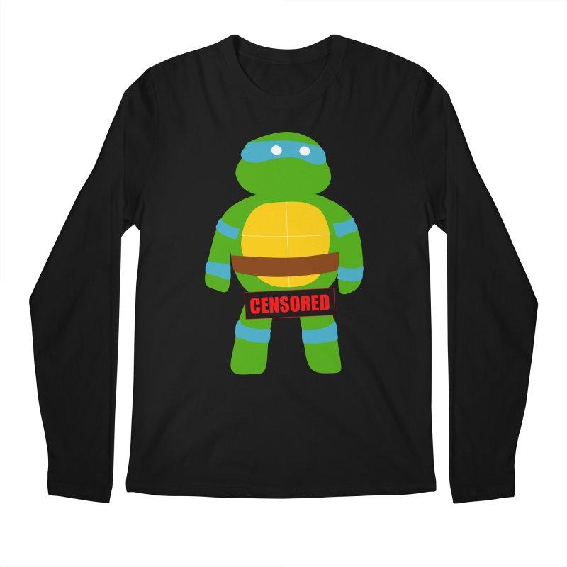 Naughty Leonardo Men's Longsleeve T-Shirt by oneweirddude's Artist Shop