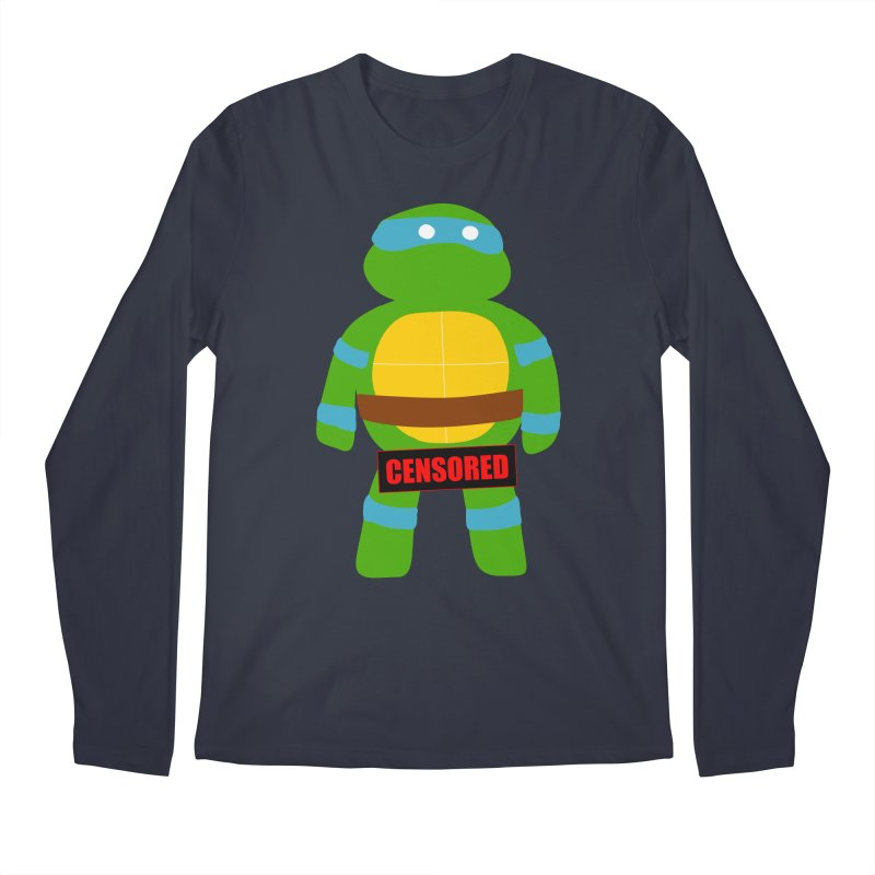 Naughty Leonardo Men's Longsleeve T-Shirt by oneweirddude's Artist Shop