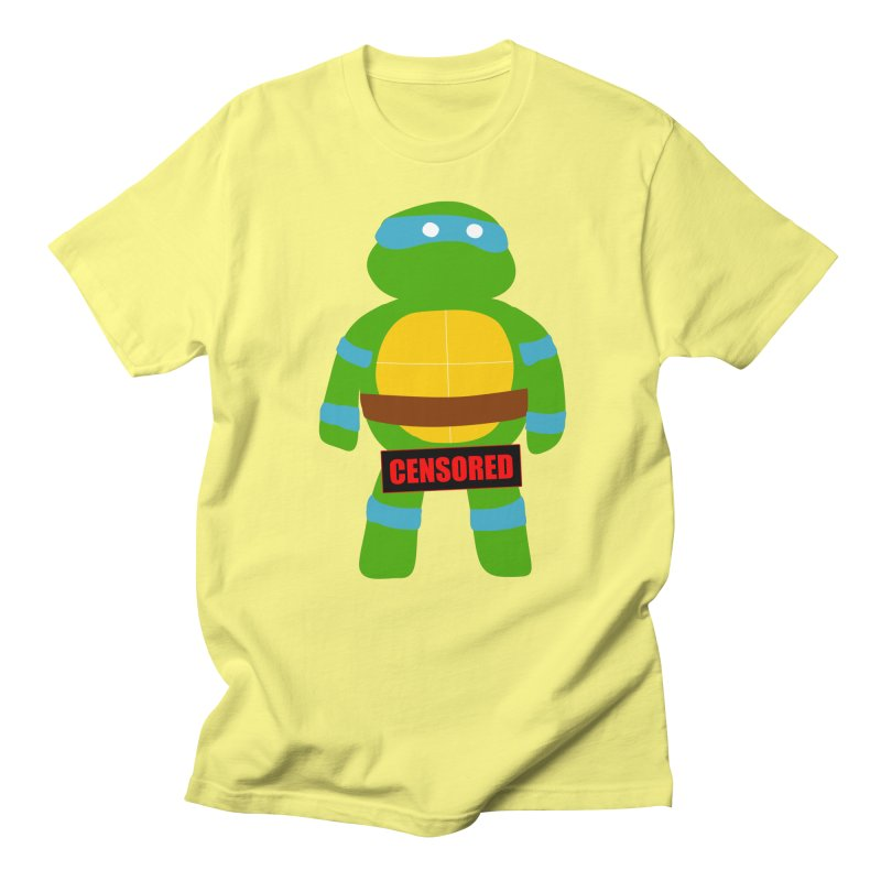 Naughty Leonardo Men's T-shirt by oneweirddude's Artist Shop