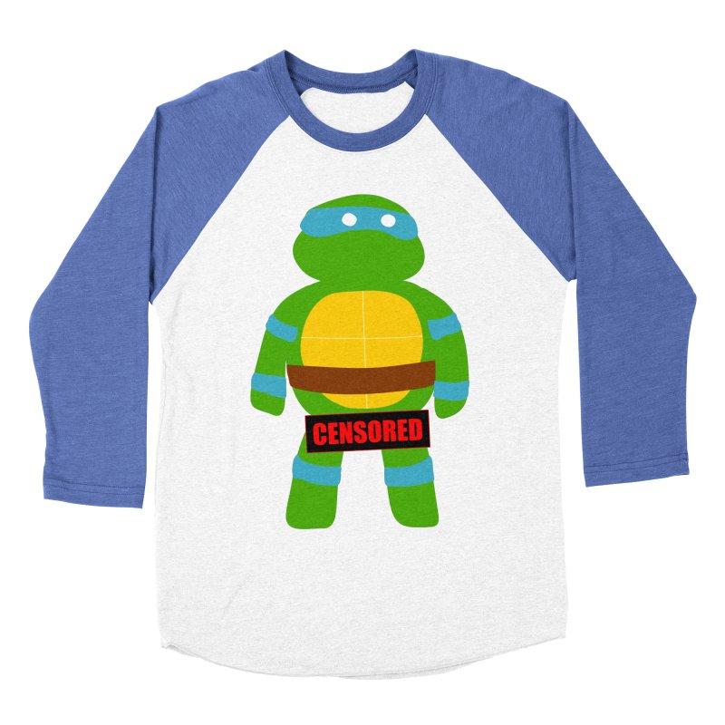 Naughty Leonardo Women's Baseball Triblend T-Shirt by oneweirddude's Artist Shop