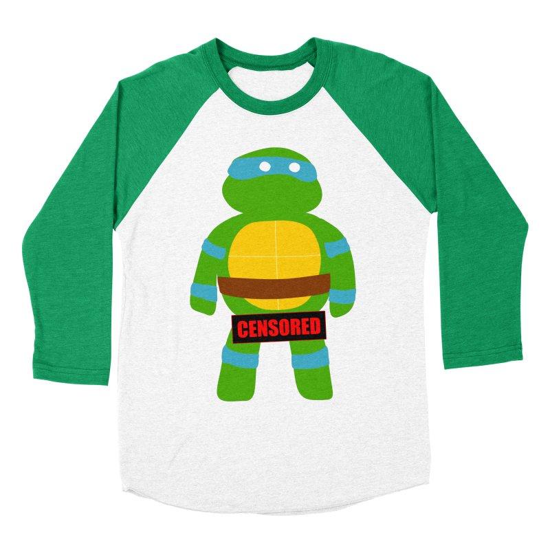 Naughty Leonardo Men's Baseball Triblend T-Shirt by oneweirddude's Artist Shop