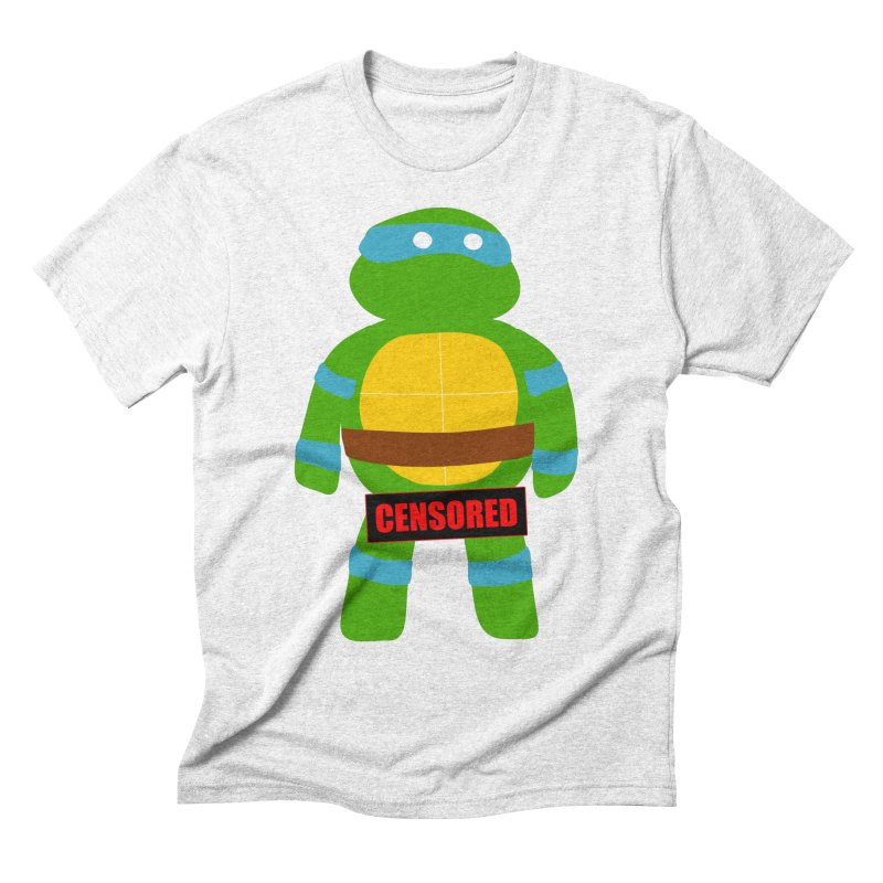 Naughty Leonardo Men's Triblend T-shirt by oneweirddude's Artist Shop
