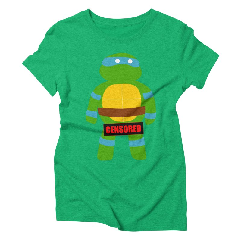 Naughty Leonardo Women's Triblend T-shirt by oneweirddude's Artist Shop