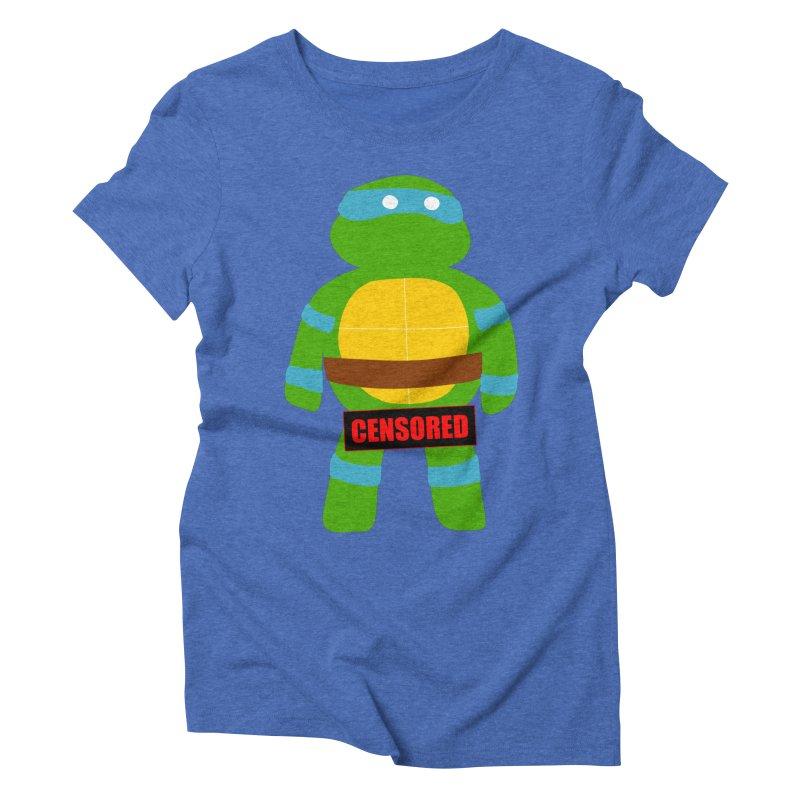 Naughty Leonardo Women's Triblend T-shirt by oneweirddude's Artist Shop