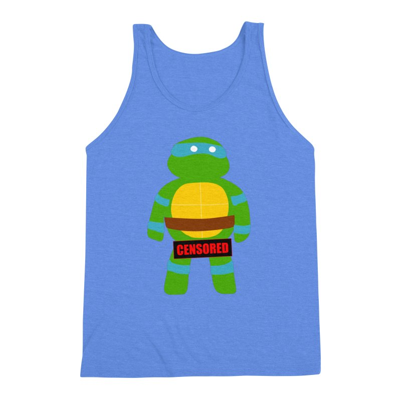 Naughty Leonardo Men's Triblend Tank by oneweirddude's Artist Shop
