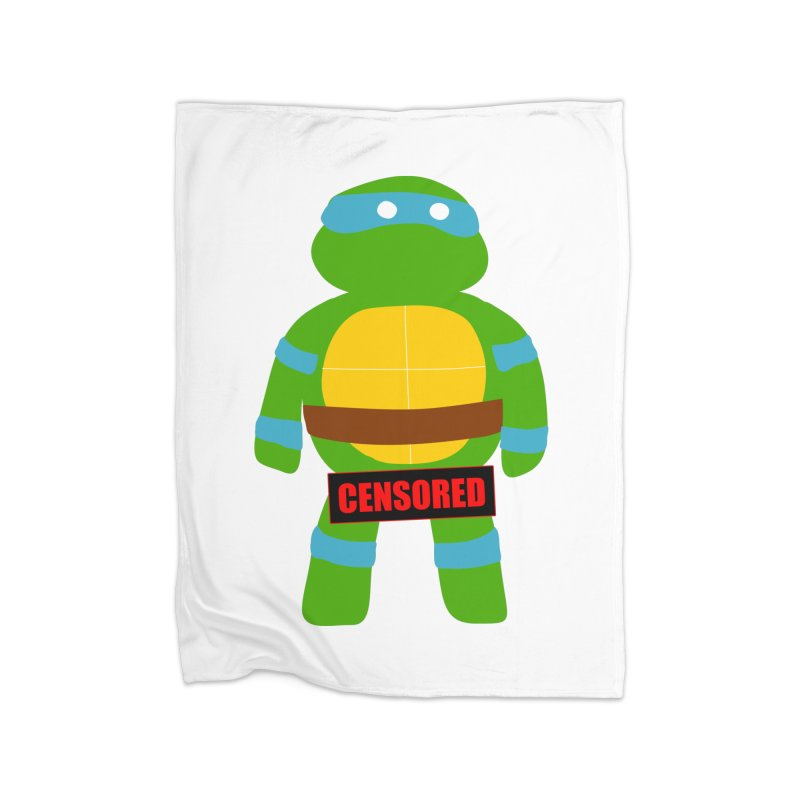 Naughty Leonardo Home Blanket by oneweirddude's Artist Shop