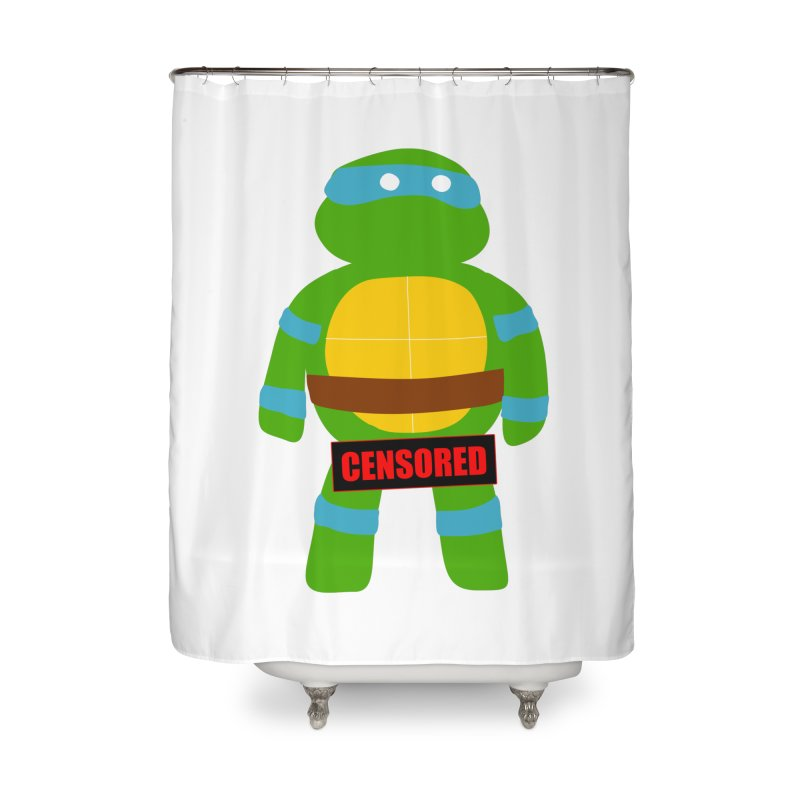 Naughty Leonardo Home Shower Curtain by oneweirddude's Artist Shop