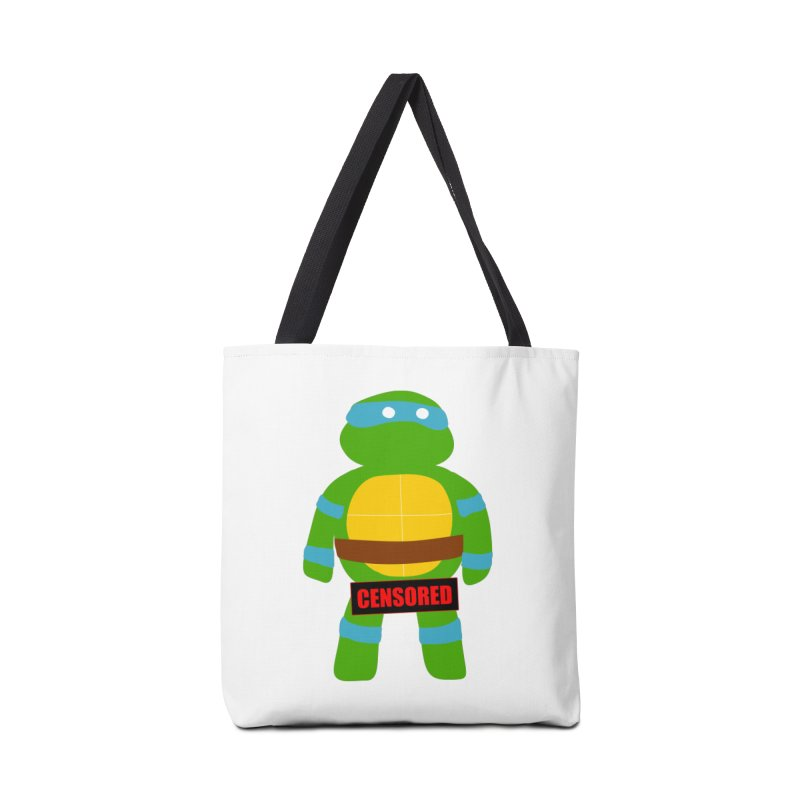 Naughty Leonardo Accessories Bag by oneweirddude's Artist Shop