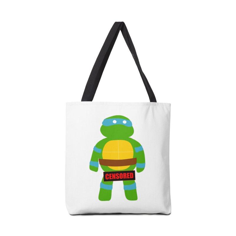 Naughty Leonardo Accessories Bag by oneweirddude's Artist Shop