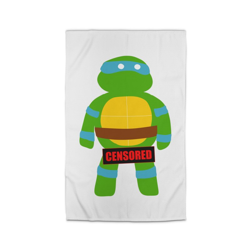Naughty Leonardo Home Rug by oneweirddude's Artist Shop