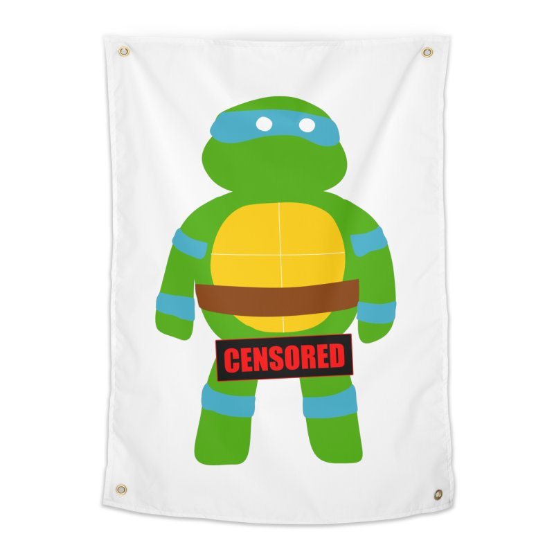 Naughty Leonardo Home Tapestry by oneweirddude's Artist Shop