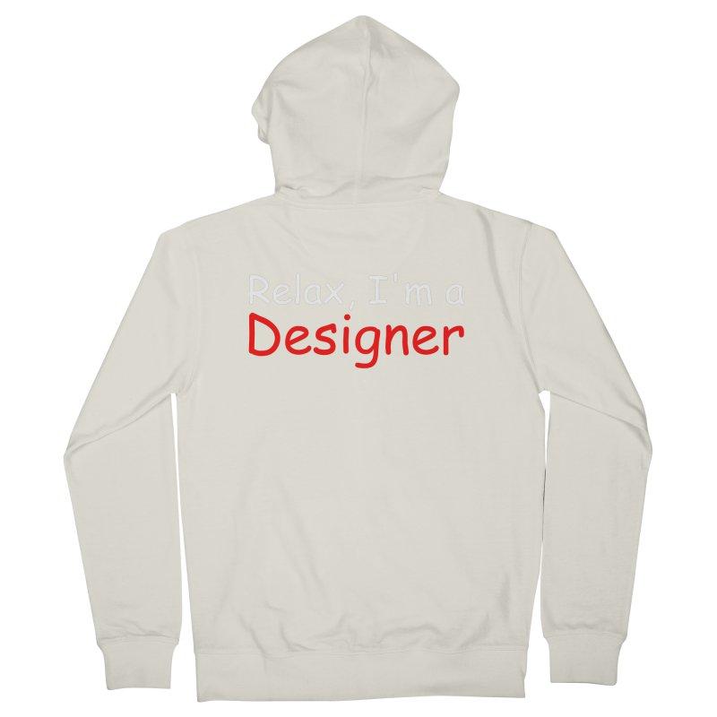 Helvetica's Overrated Men's Zip-Up Hoody by oneweirddude's Artist Shop