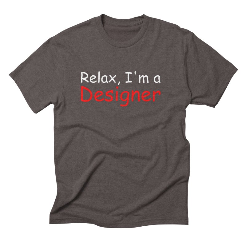 Helvetica's Overrated Men's Triblend T-Shirt by oneweirddude's Artist Shop