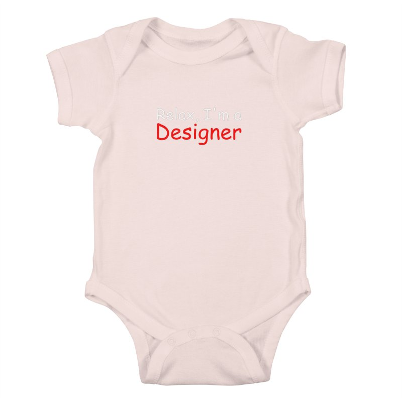 Helvetica's Overrated Kids Baby Bodysuit by oneweirddude's Artist Shop