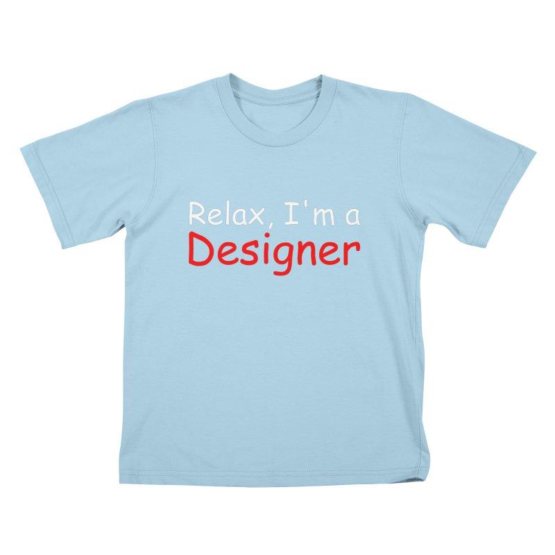 Helvetica's Overrated Kids T-Shirt by oneweirddude's Artist Shop