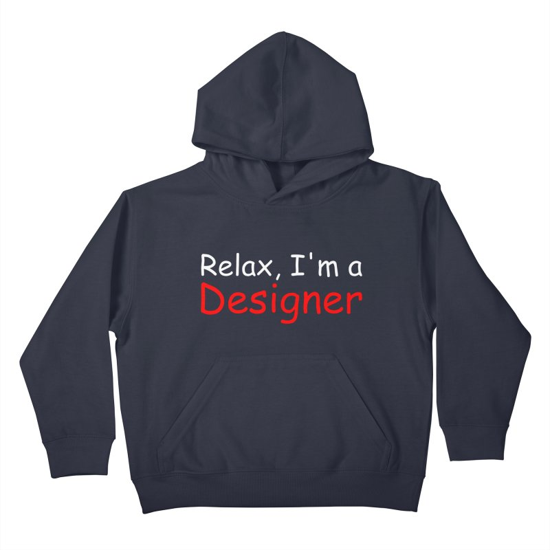 Helvetica's Overrated Kids Pullover Hoody by oneweirddude's Artist Shop