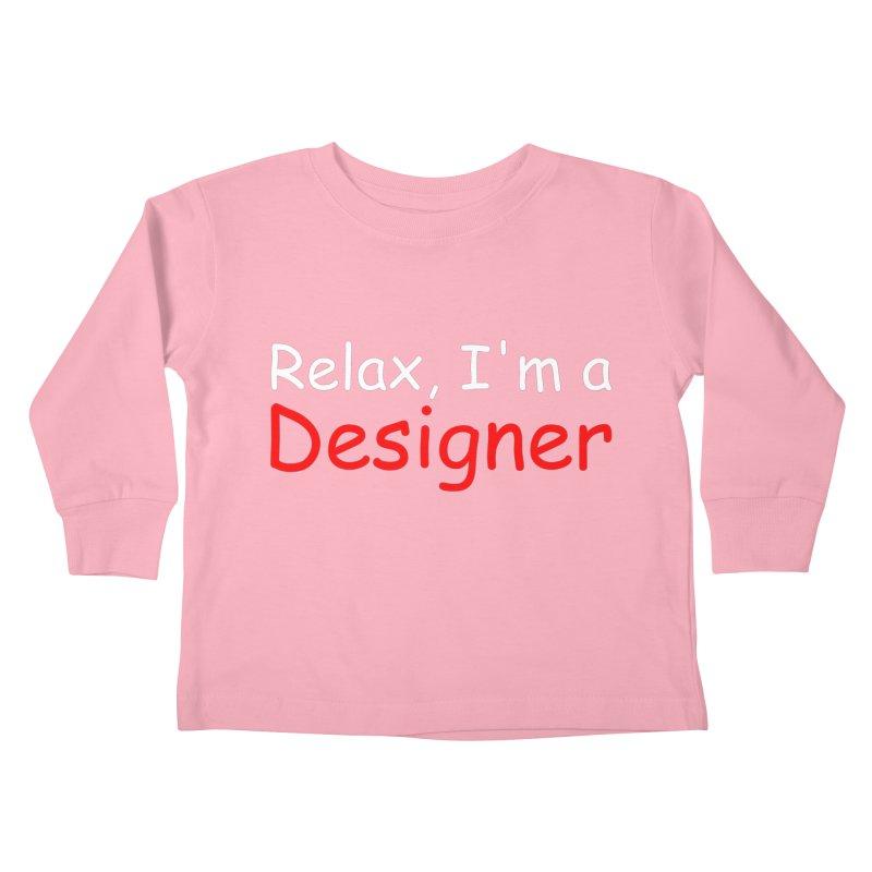 Helvetica's Overrated Kids Toddler Longsleeve T-Shirt by oneweirddude's Artist Shop
