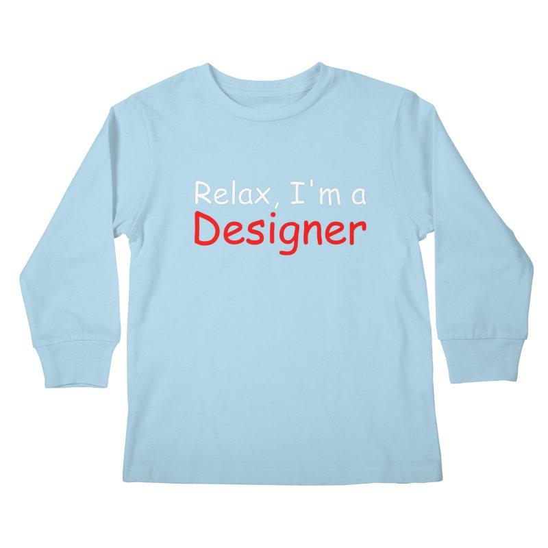Helvetica's Overrated Kids Longsleeve T-Shirt by oneweirddude's Artist Shop