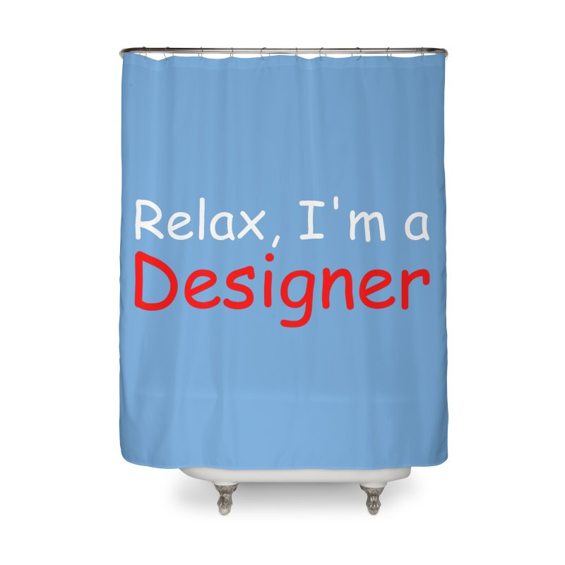 Helvetica's Overrated Home Shower Curtain by oneweirddude's Artist Shop