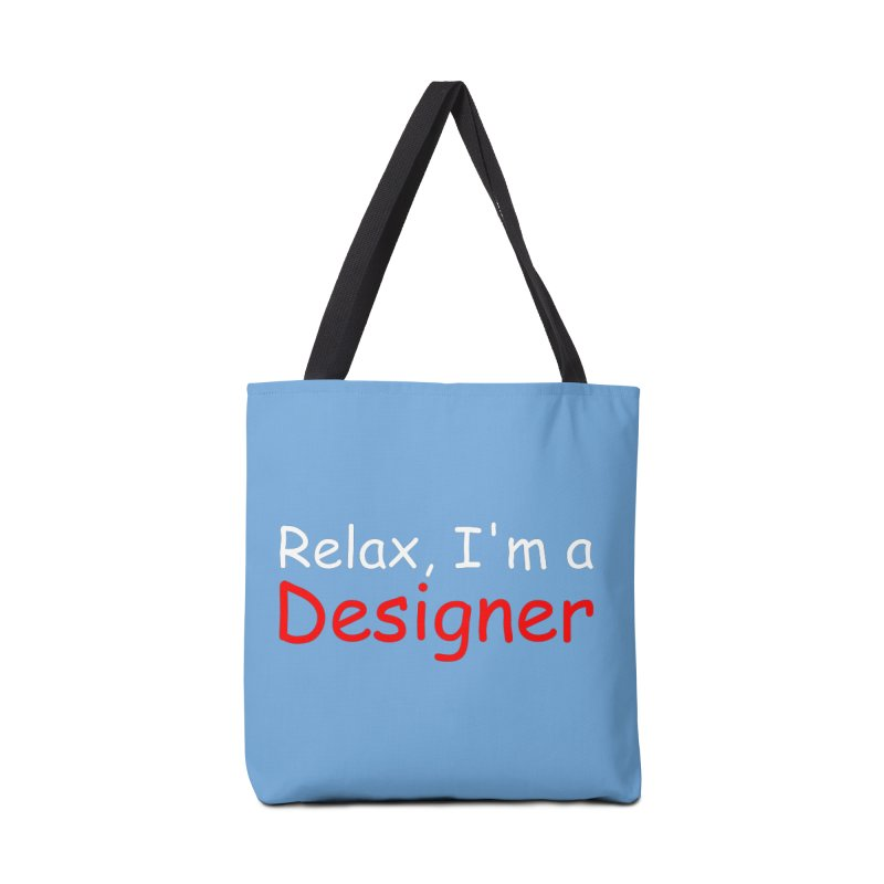 Helvetica's Overrated Accessories Bag by oneweirddude's Artist Shop