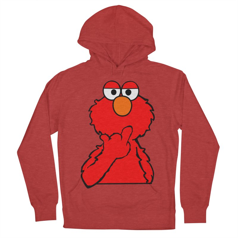 Elmo is Out of Fucks to Give Women's French Terry Pullover Hoody by oneweirddude's Artist Shop