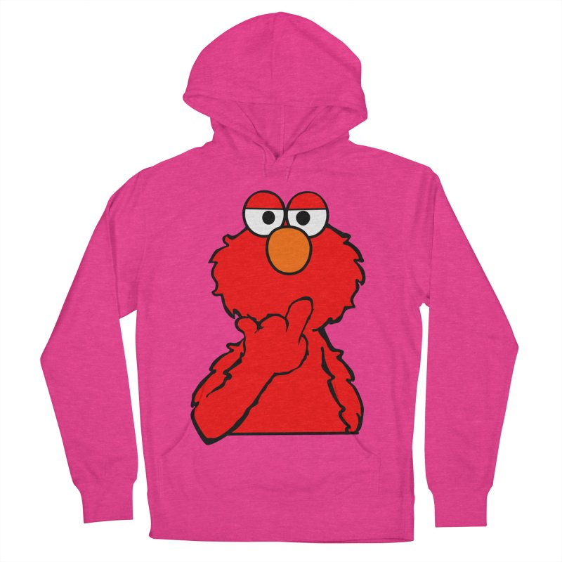 Elmo is Out of Fucks to Give Women's Pullover Hoody by oneweirddude's Artist Shop