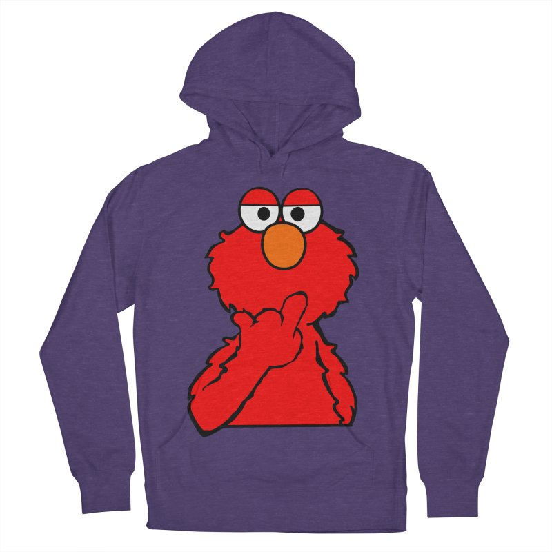 Elmo is Out of Fucks to Give Men's Pullover Hoody by oneweirddude's Artist Shop