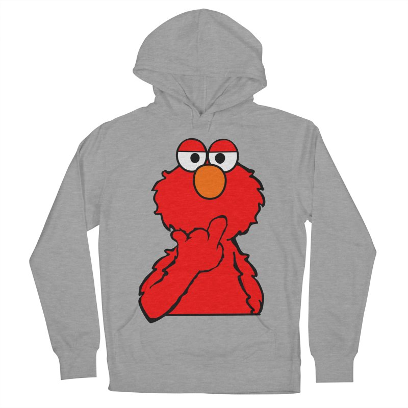 Elmo is Out of Fucks to Give Men's French Terry Pullover Hoody by oneweirddude's Artist Shop