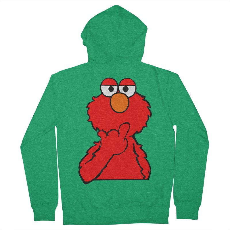 Elmo is Out of Fucks to Give Women's Zip-Up Hoody by oneweirddude's Artist Shop