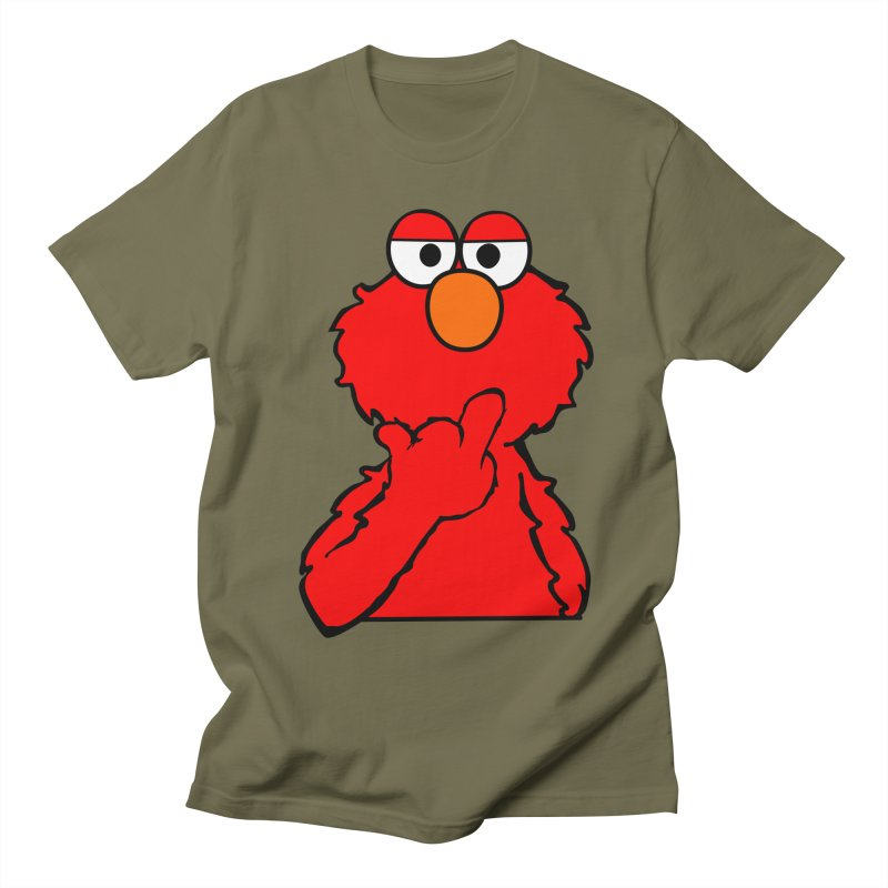 Elmo is Out of Fucks to Give Men's T-shirt by oneweirddude's Artist Shop