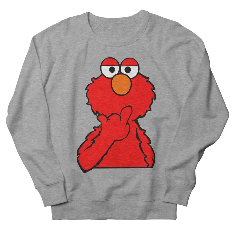Elmo is Out of Fucks to Give Men's Sweatshirt by oneweirddude's Artist Shop
