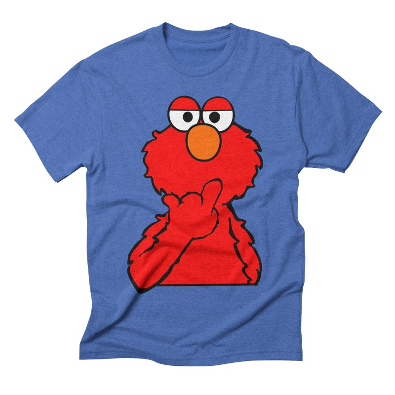 Elmo is Out of Fucks to Give Men's Triblend T-Shirt by oneweirddude's Artist Shop