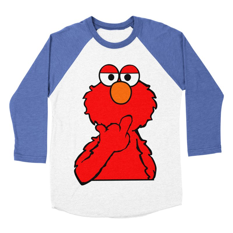 Elmo is Out of Fucks to Give Women's Baseball Triblend Longsleeve T-Shirt by oneweirddude's Artist Shop