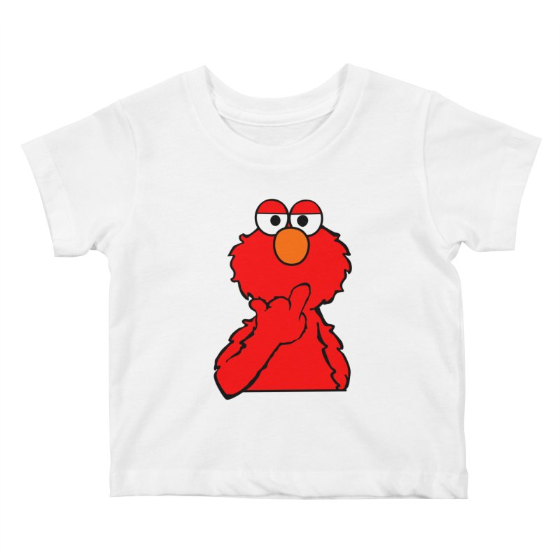 Elmo is Out of Fucks to Give Kids Baby T-Shirt by oneweirddude's Artist Shop