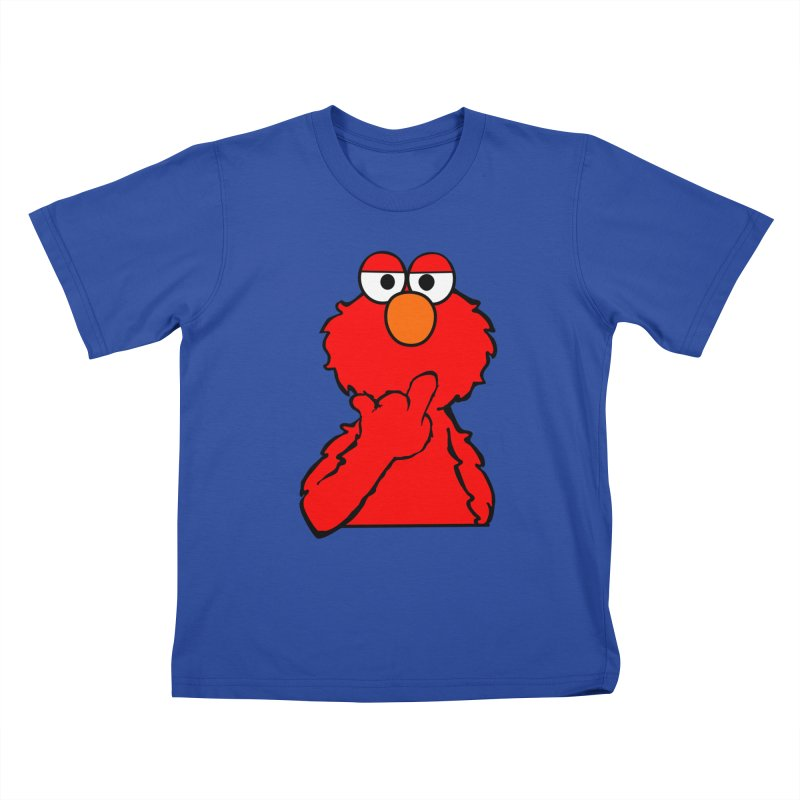 Elmo is Out of Fucks to Give Kids T-Shirt by oneweirddude's Artist Shop