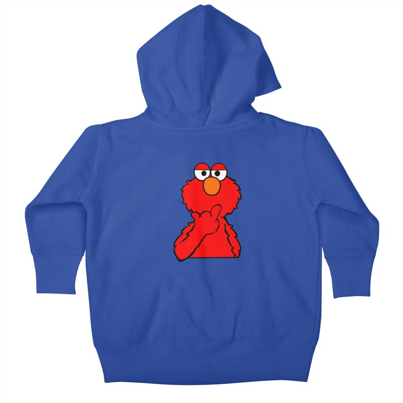 Elmo is Out of Fucks to Give Kids Baby Zip-Up Hoody by oneweirddude's Artist Shop