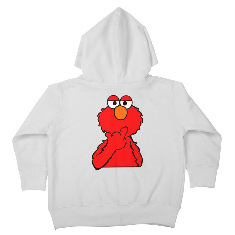 Elmo is Out of Fucks to Give Kids Toddler Zip-Up Hoody by oneweirddude's Artist Shop